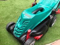 Lawnmower bosh electrick rotack 37-14 1400 wat