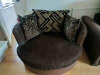 Rotating sofa