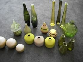 Selection of Green Ornaments for sale