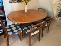 **FREE** G Plan Dining Table and Chairs