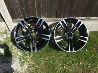 Genuine alloys and tyres bmw m rangerover landrover Audi cars