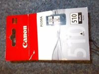 CANON 510 AND 511 INK CARTRIDGES