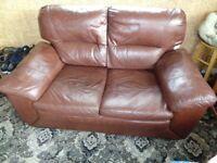 Leather 2 - Seat Sofa