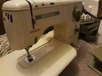 Vintage Bernina 730 record Sewing machine in original case antique