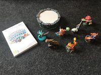 Wii Skylanders figures and portal