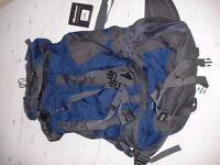 Blue & Black Karrimor Back Country 65L Backpack