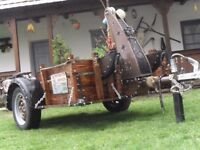 Trailer,unique,antiqued,bicycle transporter,other transporter for sale