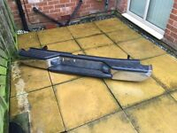 Nissan Navara Rear Bumper Bar Complete very slight damage to O/S/R top corner