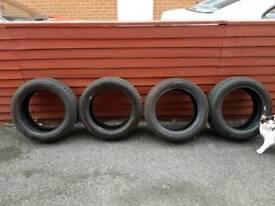 185/55/15 Tyres, part-worns, 6-7mm tread
