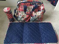 Cath Kidson Patchwork Double Pocket Change Bag