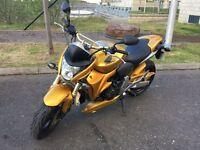 Honda CB600F Hornet, 2007, only 6150 miles.