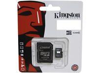 16 GB Kingston Micro SD card/memory card for Samsung Galaxy S4/S5/S7/S7 Edge