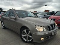 2005 - 55 Mercedes C220 CDI - Avantgarde - 114k Miles - S/H- Leather-Automatic - MOT March 2017!!