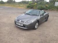 04/04 MG 2.6 TF SPORTS CONVERTIBLE PART EXCHANGE TO CLEAR £750