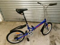 Finsby Adult Folding Bike 6 gears