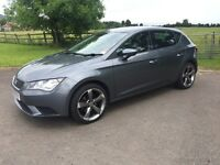 2013 (June) SEAT Leon 1.2 TSI S, low mileage and upgraded 18inch alloys