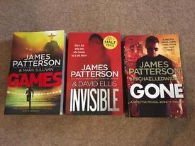 James Paterson Books