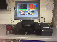 EPOS TILL SYSTEM TOUCH SCREEN COMPLETE FOR SHOP, GROCERY, OFFLICENCE, CASH TILL