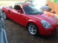 toyota mr2 immaculate condition drives like new 51k 2004 54 reg