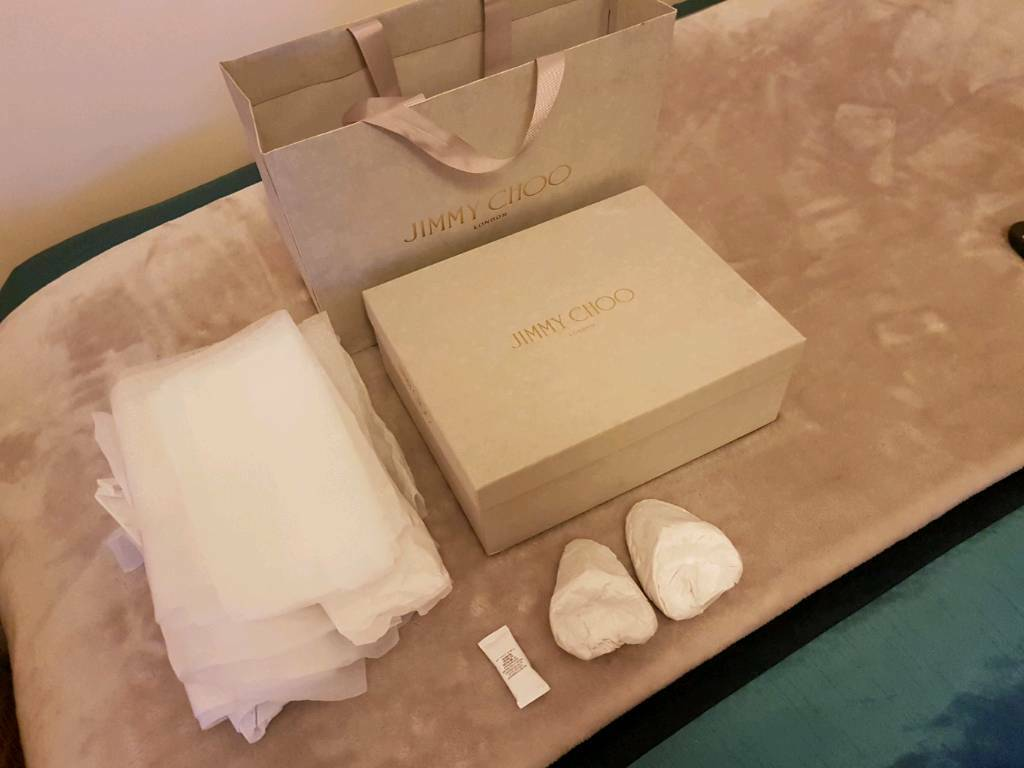 b77489bf862 Jimmy Choo shoes box ( Empty box ) and shopping bag . | in ...