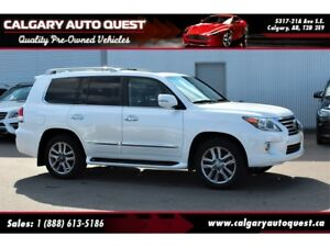2014 Lexus LX 570 4WD/NAVI/B.CAM/DVD/3RD ROW/LEATHER