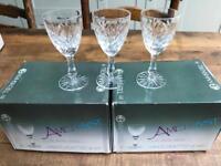 Sets of crystal glasses!!!!