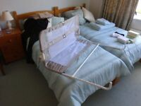 Lindam bed protector for infant safety in bed