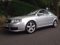 AUDI A4 S Line Sport 1.8T 190 Automatic 49k GENUINE LOW MILES LEATHERS DRIVES MINT CAM BELT CHANGED