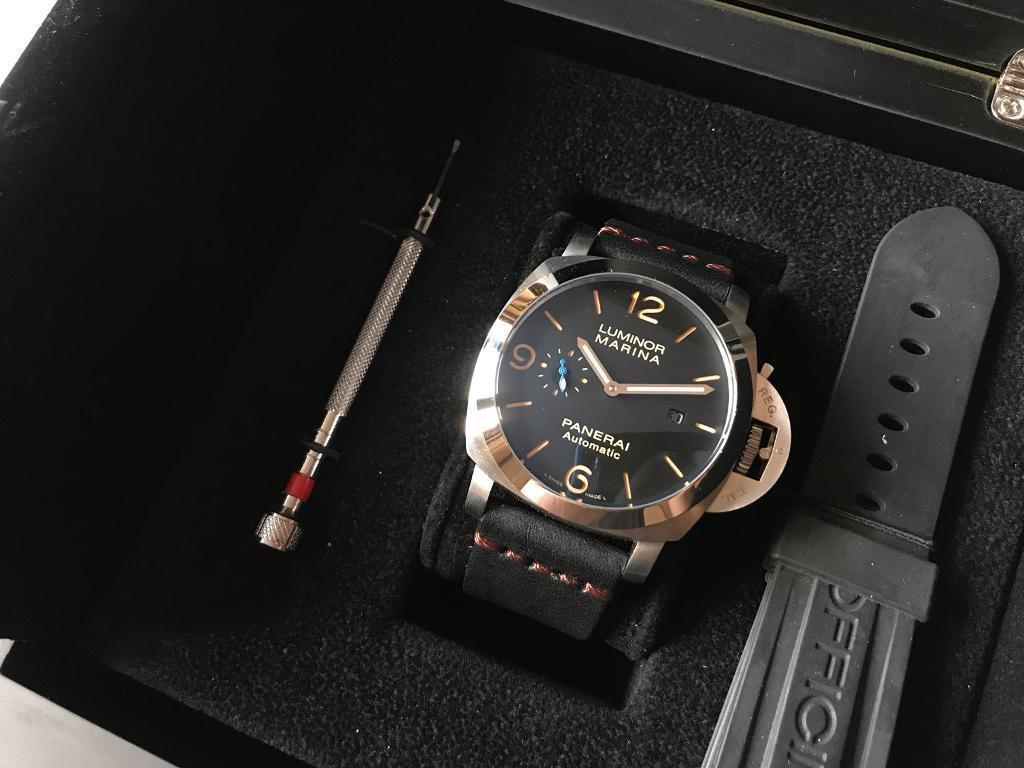 Swiss Panerai Luminor Marina Automatic Watch
