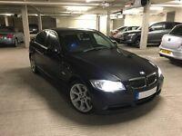 BMW 330d (06) saloon, same owner last 9 years, Black Metallic, Leather, Xenon, Alloys, Alarm, Tints