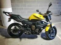 Yamaha XJ6 N Motorbike