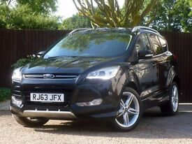 "Ford Kuga 2.0 TDCi Titanium X Station Wagon Powershift 4x4 5dr # Nav # Leather # 19"" Alloy"