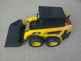 Caterpillar Digger self propels with lights and sounds