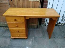 £45 pine dressing table desk farmhouse shabby chic project