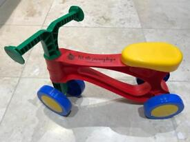 Toddler Balance Bike - My First Scooter 18mths to 3 years