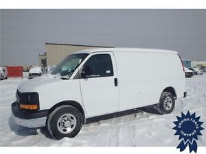 2015 Chevrolet Express Cargo Van Rear Wheel Drive - 26,444 KMs