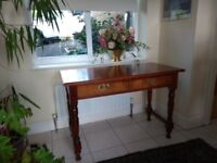 Two draw table/desk/dressing table... you choose, great condition