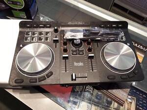 Hercules Universal DJ Control (#46883). We sell used DJ Equipment. We carry Technics, Vestax, Hercules, Behringer, Pyle!