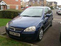 2004 Vauxhall Corsa 1.2 3-Door Hatchback. Low mileage.