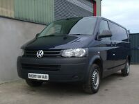 Volkswagen Transporter lwb metallic blue