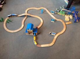 Wooden train track NOW SOLD