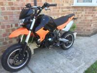 Road legal pitbike bsr 125 pit bike