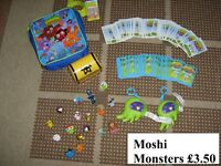moshi monsters all in pic smoke and pet free home collection from didcot