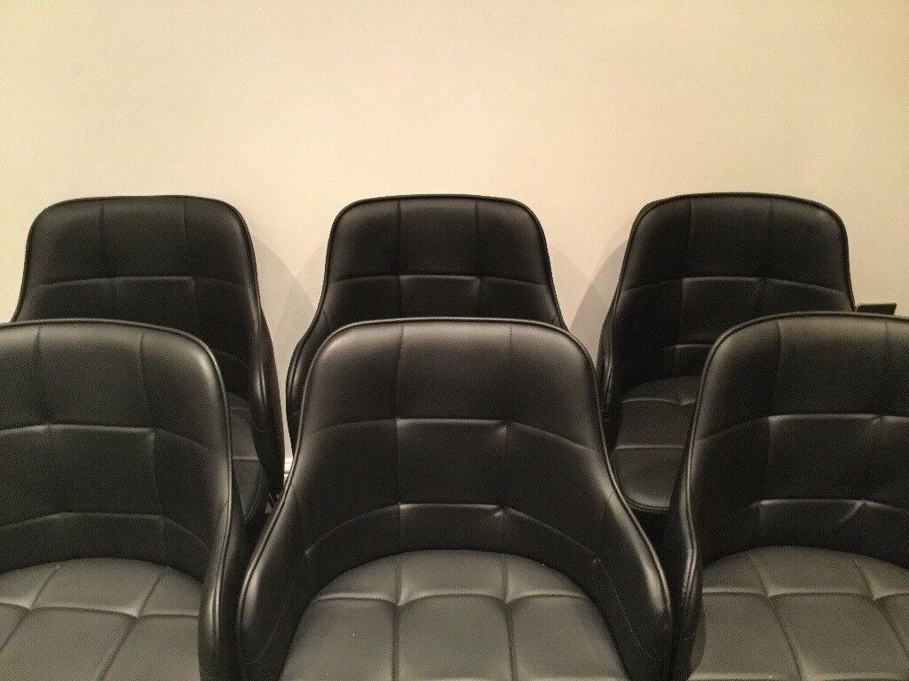 Black 'Dawn' Dining Chairs