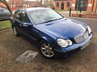 Mercedes C220 Elegance Estate 53 Plate