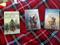 3 ASSASSIN'S CREED BOOKS