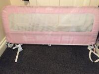 Pink bedrail
