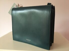 Ladies Radley blue Handbag / Shoulder Bag NEW WITH TAGS RRP £219