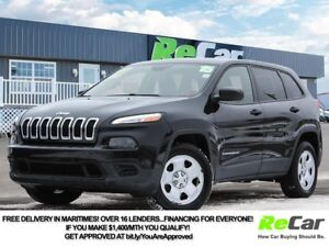 2015 Jeep Cherokee Sport REDUCED | 4X4 | HEATED SEATS | BACK...