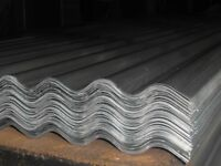 CORRUGATED WALL/ROOFING SHEETS, UNCOATED/COATED, any length, UK DELIVERY